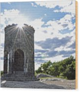 Mount Battie Camden Maine Wood Print