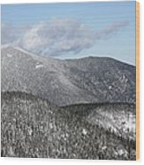 Mount Carrigain - White Mountains New Hampshire Usa Wood Print