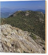 Mount Chocorua - White Mountains New Hampshire Usa Wood Print