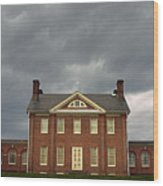 Mount Clare Mansion Wood Print
