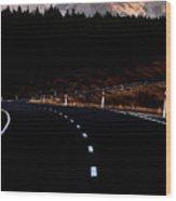 Mount Cook New Zealand Wood Print