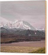 Mount Denali Wood Print
