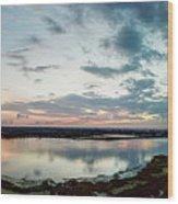 Mount Dora Fl Sunset Wood Print