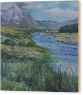 Mount Errigal Co. Donegal Ireland. 2016 Wood Print