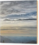 Mount Evans Painterly 1 Wood Print
