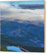 Mount Evans Painterly 2  Wood Print
