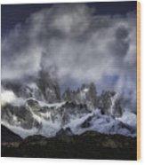 Mount Fitz Roy 6 Wood Print