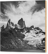 Mount Fitz Roy Wood Print