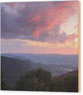 Mount Greylock Sunset Wood Print