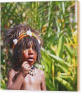 Mount Hagen Papua New Guinea Aog 91 Wood Print