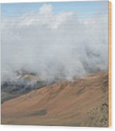 Mount Haleakala Crater Wood Print