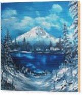 Mount Hood - Opus 2 Wood Print