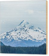 Mount Hood Wood Print