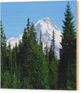 Mount Hood Majestic Wood Print