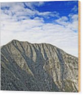 Mount Katahdin In Baxter State Park Maine Wood Print by Brendan Reals