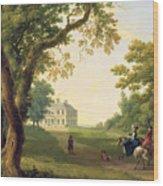 Mount Kennedy - County Wicklow Wood Print