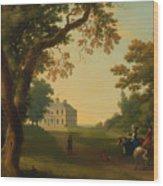 Mount Kennedy - County Wicklow Ireland Wood Print