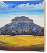 Mount Lindesay,australia Wood Print
