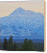 Mount Mckinley Wood Print