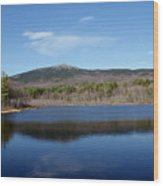 Mount Monadnock Wood Print