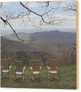 Mount Pisgah View Wood Print