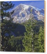 Mount Raineer 1 Wood Print