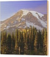 Mount Raineer 2 Wood Print