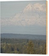 Mount Rainier 4 Wood Print