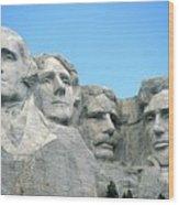 Mount Rushmore Wood Print by American School