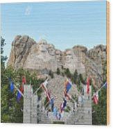 Mount Rushmore Entrance  8713 Wood Print