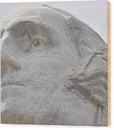 Mount Rushmore George Washington Wood Print