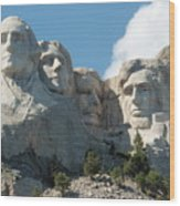 Mount Rushmore Monument Wood Print