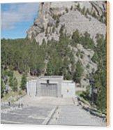 Mount Rushmore National Monument Amphitheater South Dakota Wood Print
