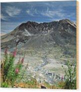 Mount Saint Helens Caldera Wood Print