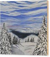 Mount Seymour Wood Print