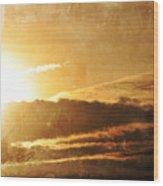 Mount Shasta Sunrise Wood Print