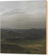 Mount Snowdon Panorama Wood Print