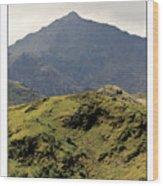 Mount Snowdon Wood Print