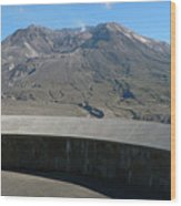 Mount St. Helen Memorial Wood Print