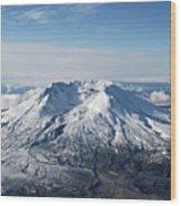 Mount St. Helens 0005 Wood Print
