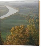 Mount Sugarloaf Autumn Morning Wood Print