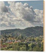 Mount Talbert In Happy Valley Oregon Wood Print