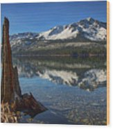 Mount Tallac And Fallen Leaf Lake Wood Print