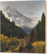 Mount Timpanogos 2 Wood Print