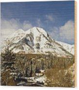 Mount Timpanogos Wood Print