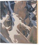 Mount Tonsa, Moraine Lake Wood Print