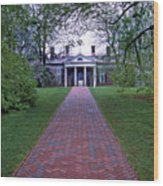 Mount Vernon 8x8 Wood Print