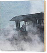 Mount Washington Cog Railroad - New Hampshire Usa Wood Print