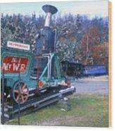 Mount Washington Cog Railway Wood Print