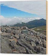 Mount Washington Observatory Wood Print
